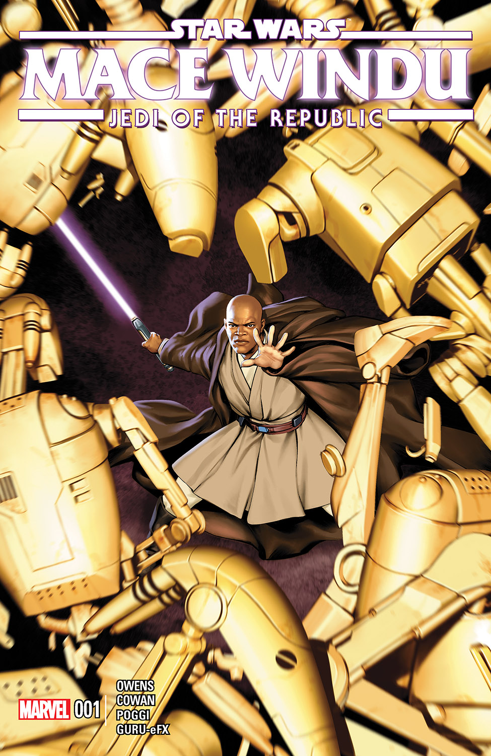 Star Wars: Jedi of the Republic – Mace Windu (2017) #1