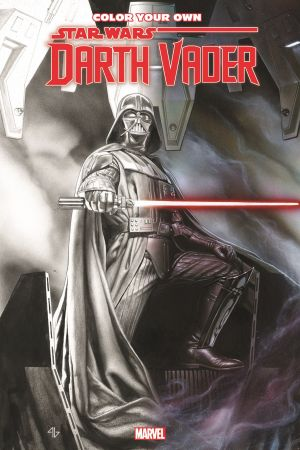 Color Your Own Star Wars: Darth Vader (Trade Paperback)