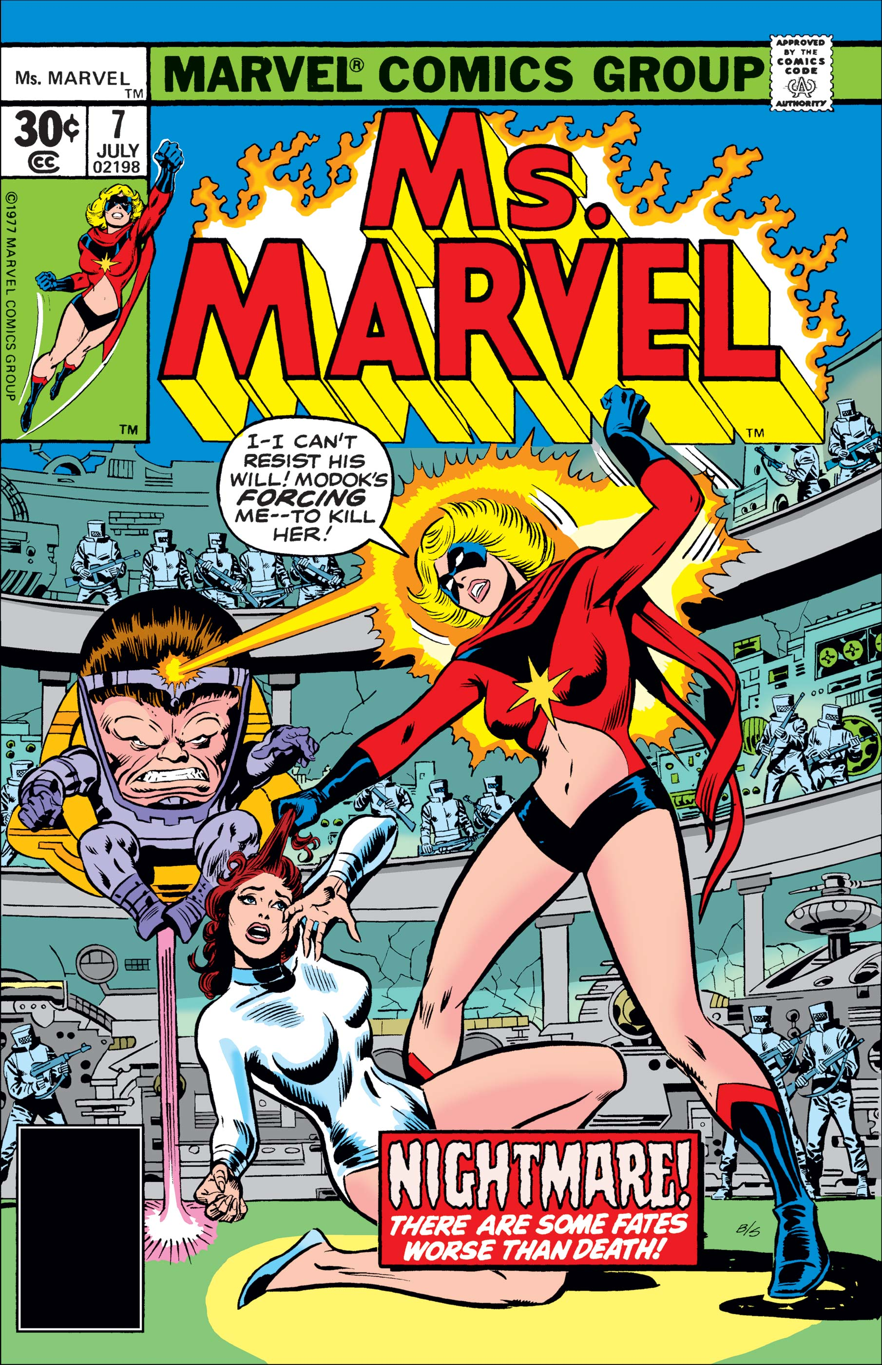 Ms. Marvel (1977) #7
