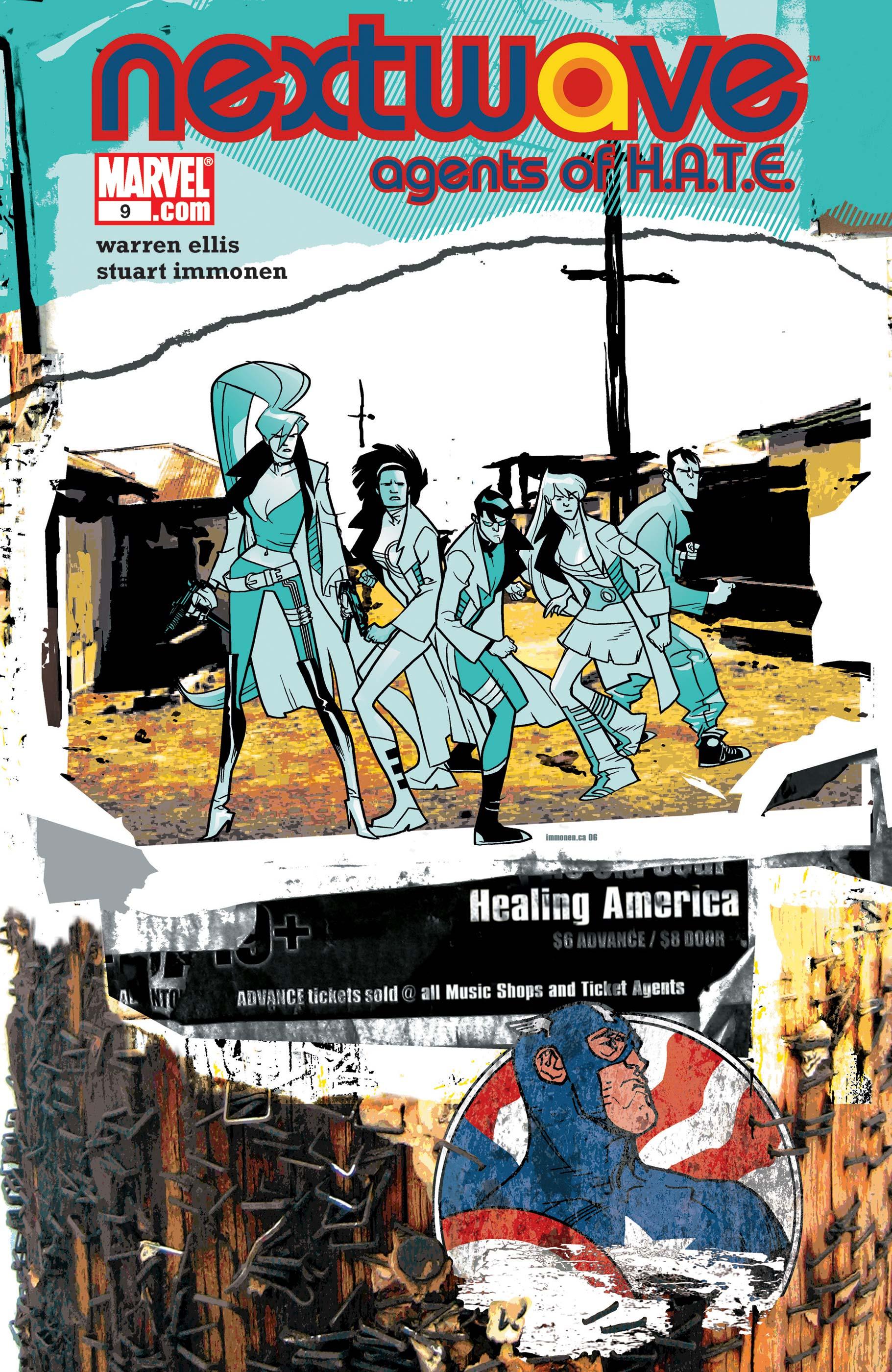 Nextwave: Agents of H.a.T.E. (2006) #9