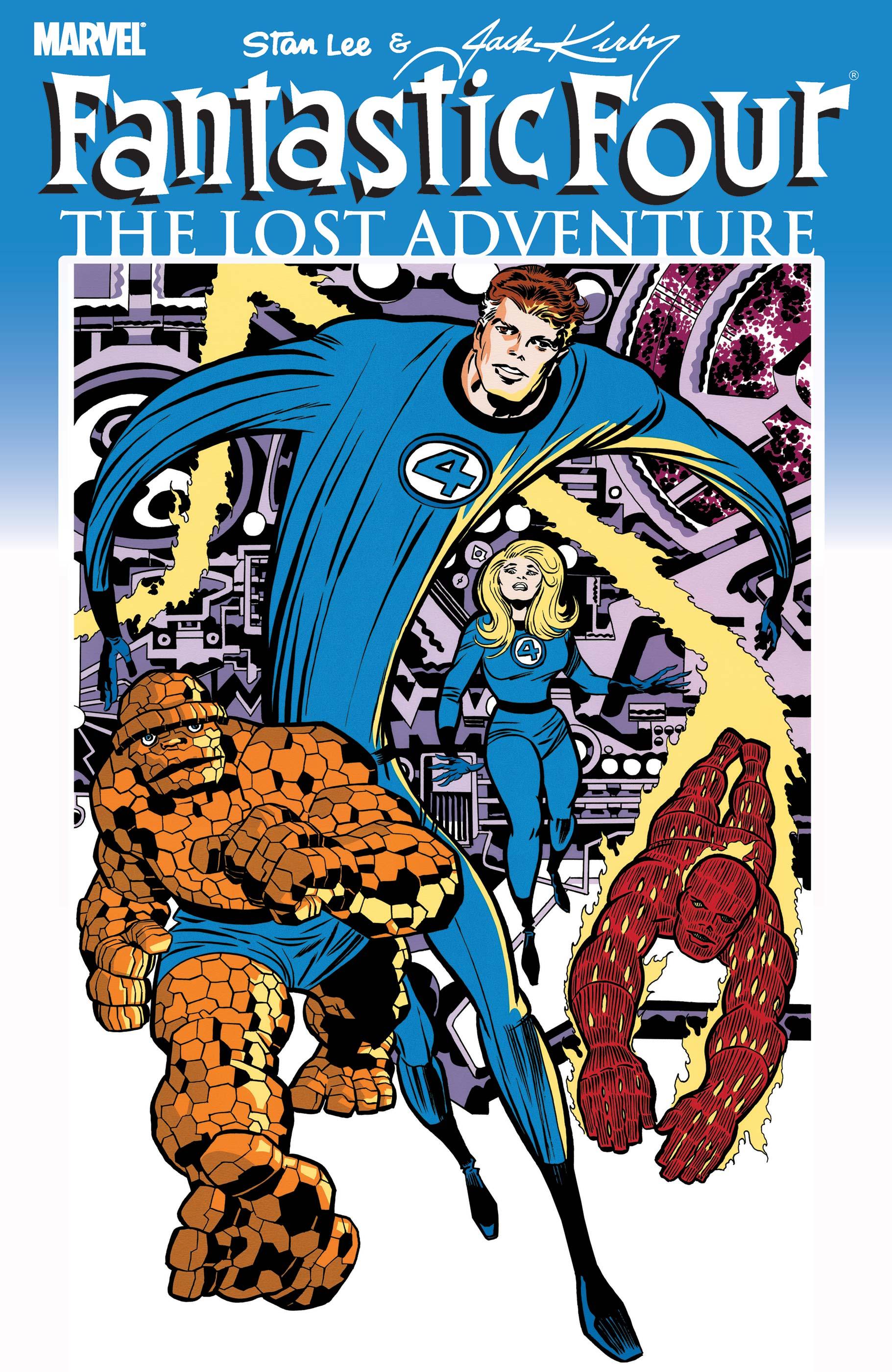 Fantastic Four: The Lost Adventure (2008) #1