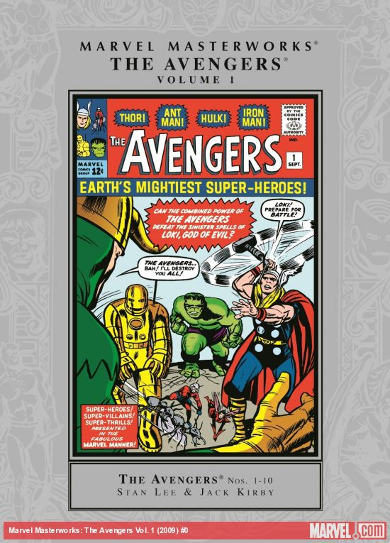 Marvel Masterworks: The Avengers Vol. 1 (Trade Paperback)