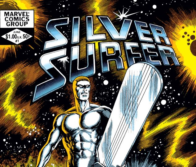 cover to Silver Surfer (1982) #1