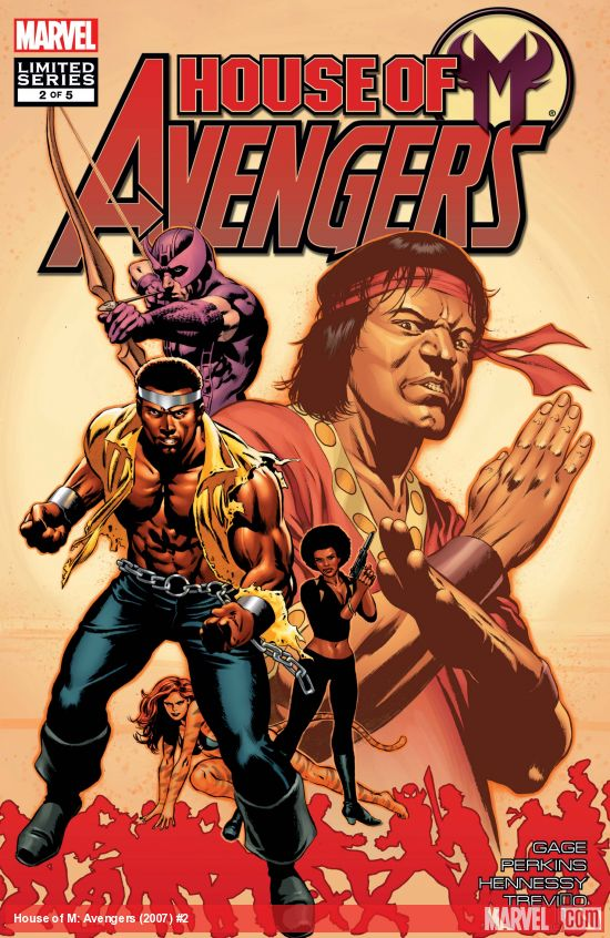 House of M: Avengers (2007) #2