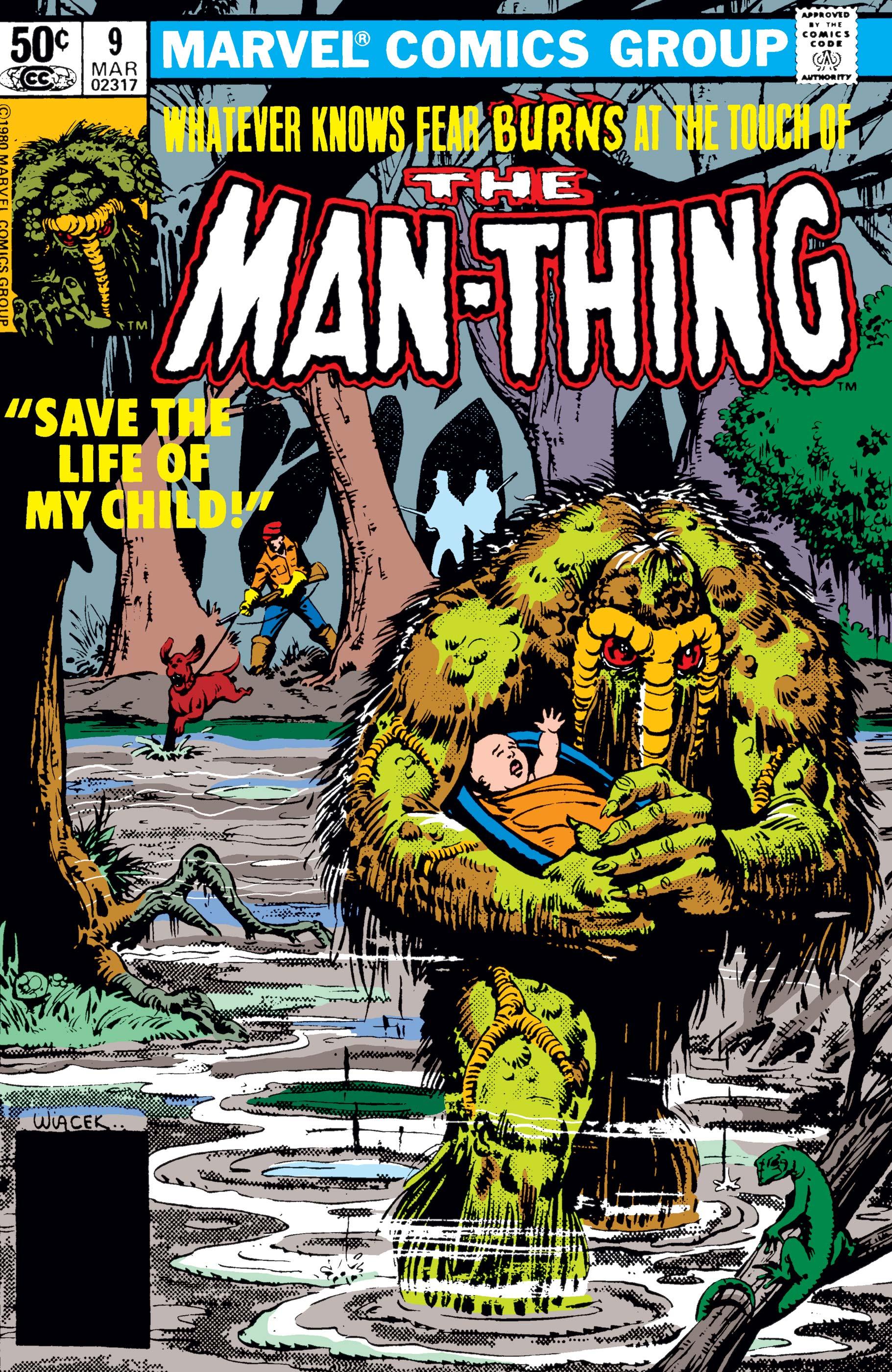 Man-Thing (1979) #9