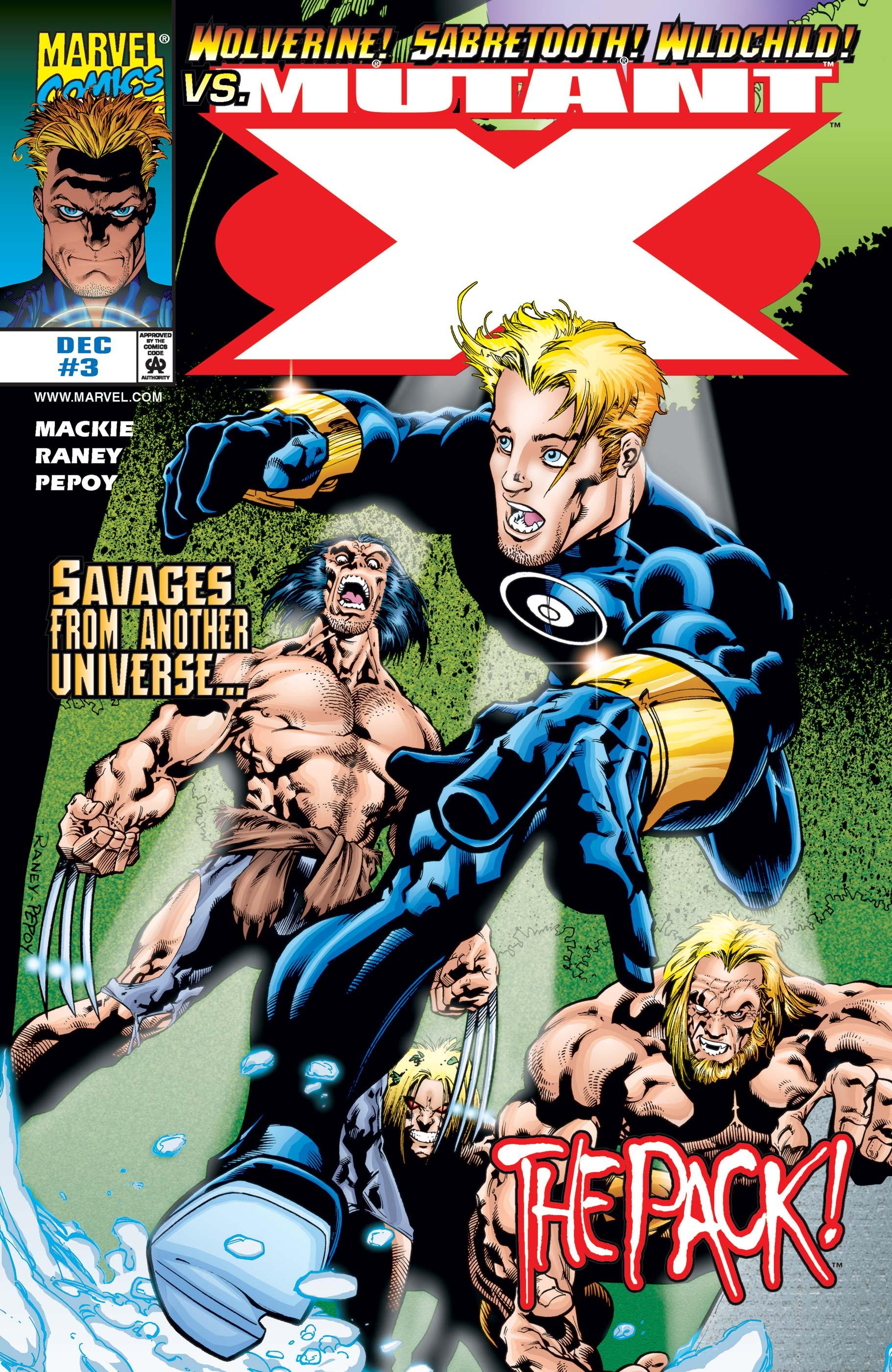 Mutant X (1998) #3