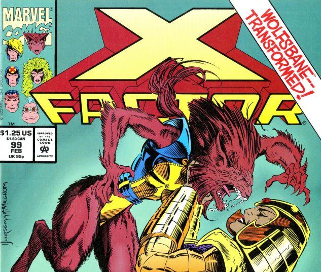X-Factor (1986) #99