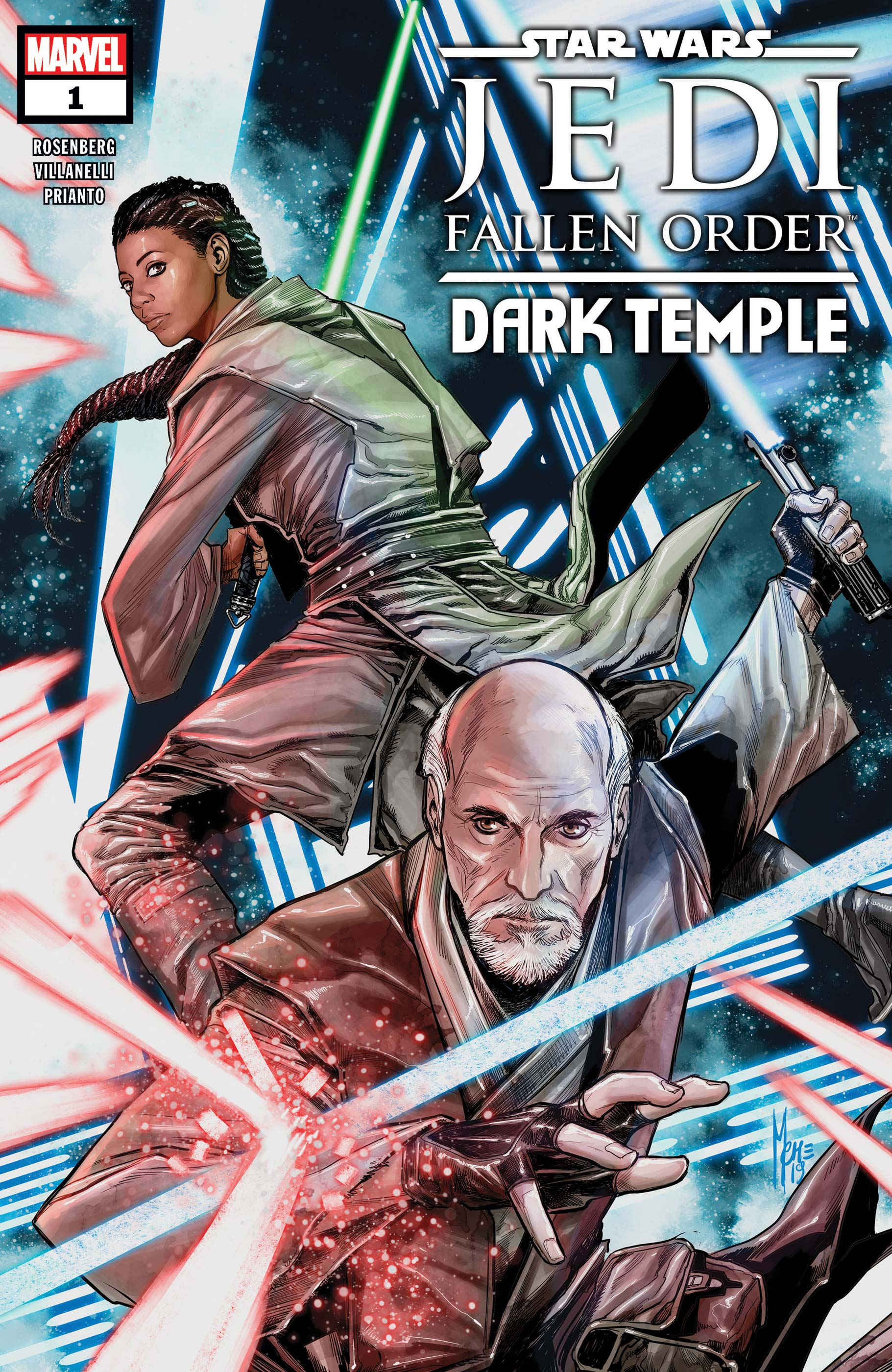 Star Wars: Jedi Fallen Order - Dark Temple (2019) #1