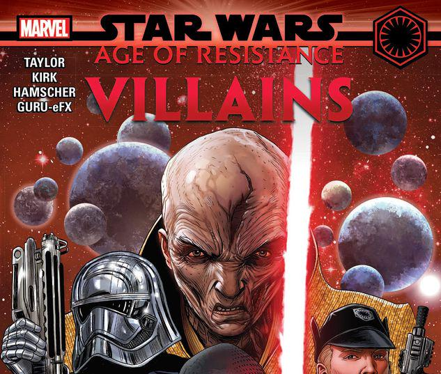 STAR WARS: AGE OF RESISTANCE - VILLAINS TPB #1