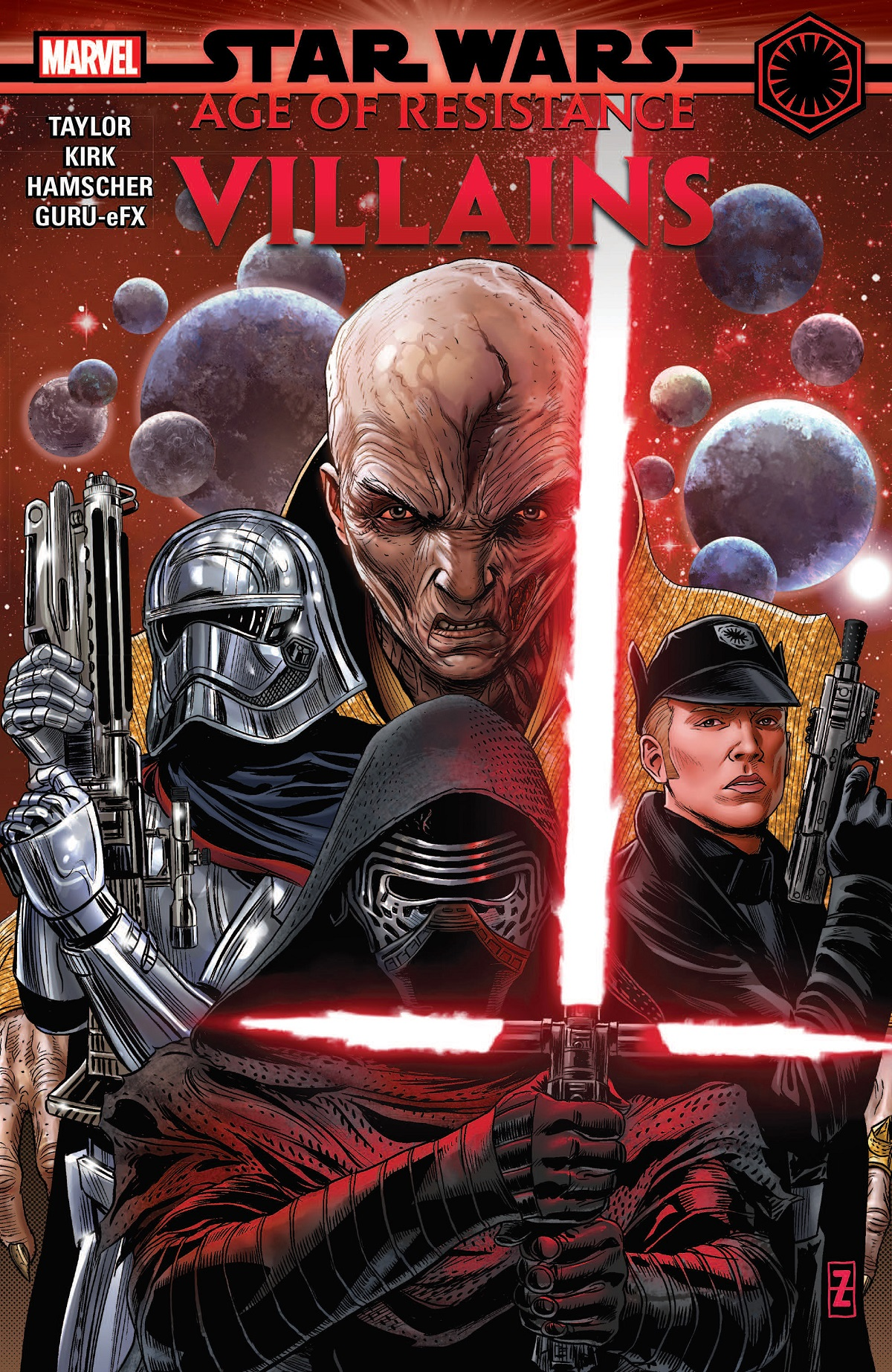 Star Wars: Age Of Resistance - Villains (Trade Paperback)