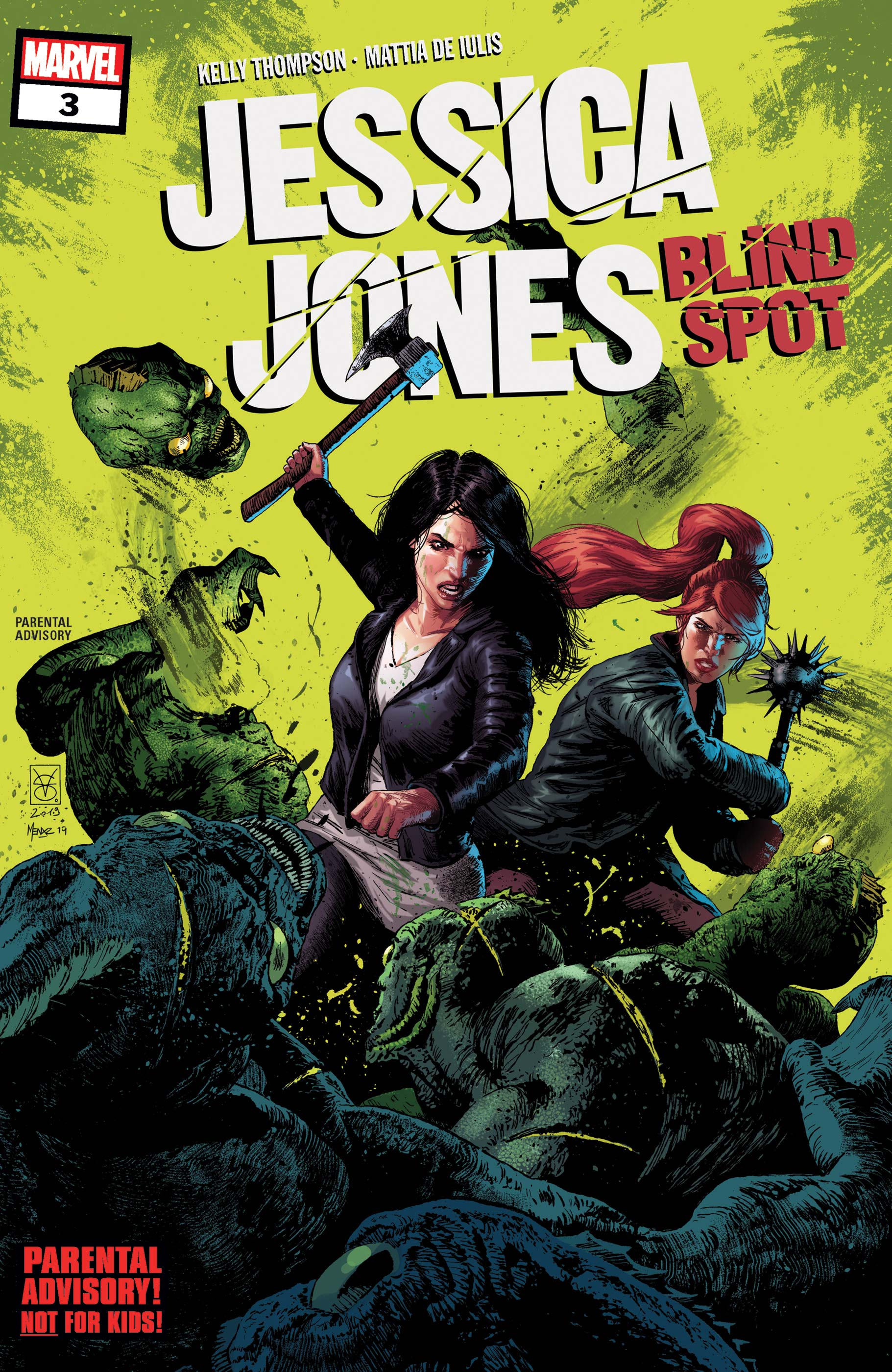 Jessica Jones: Blind Spot (2020) #3