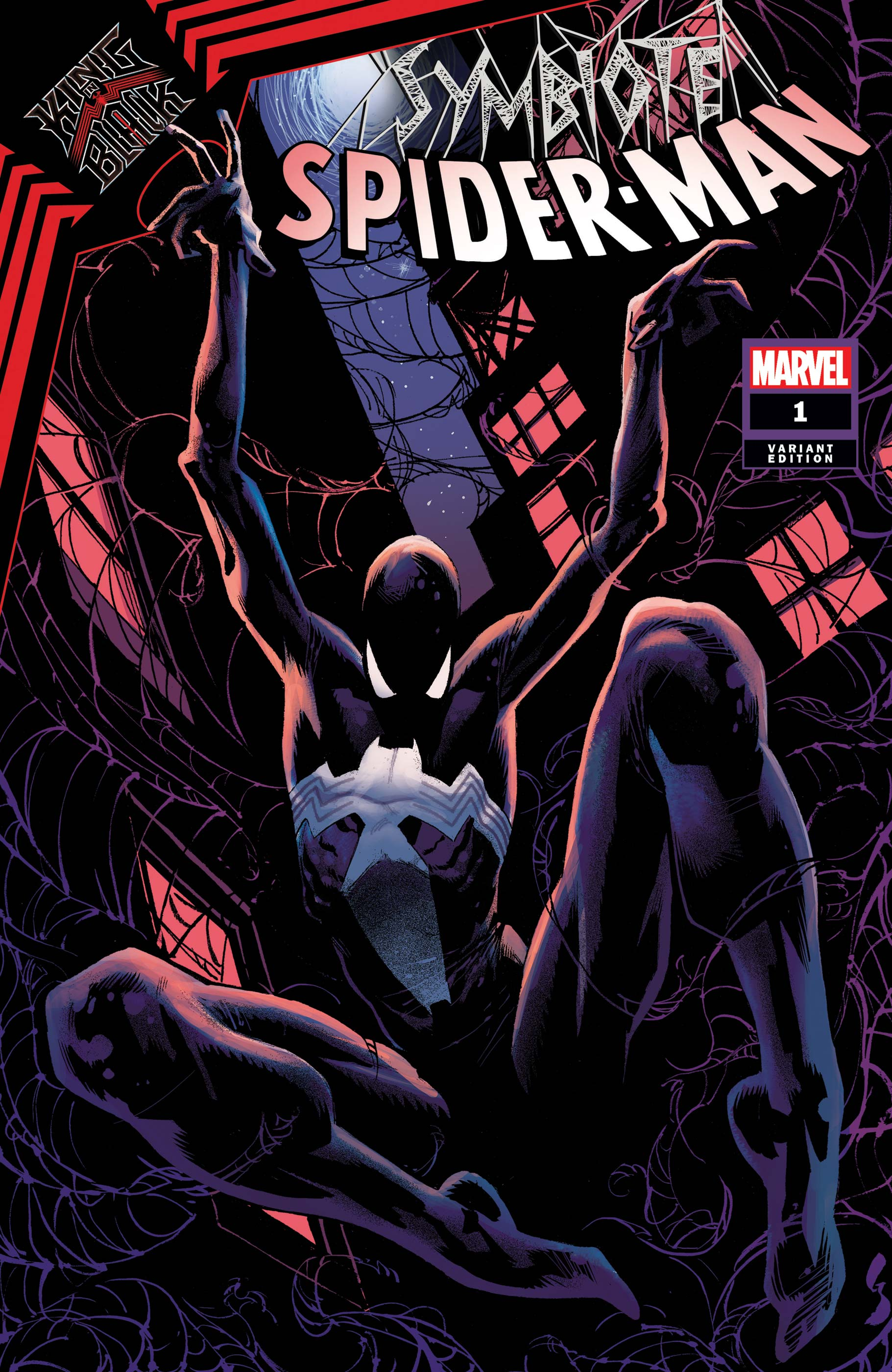 Symbiote Spider-Man: King in Black (2020) #1 (Variant)