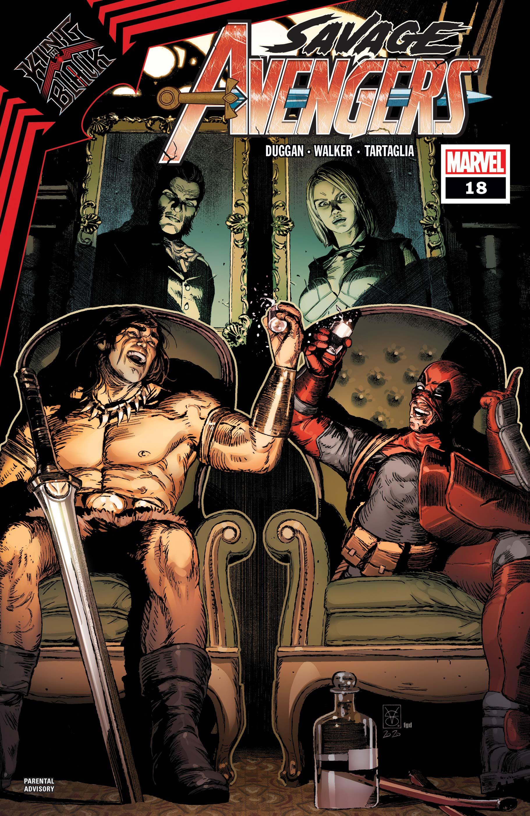 Savage Avengers (2019) #18