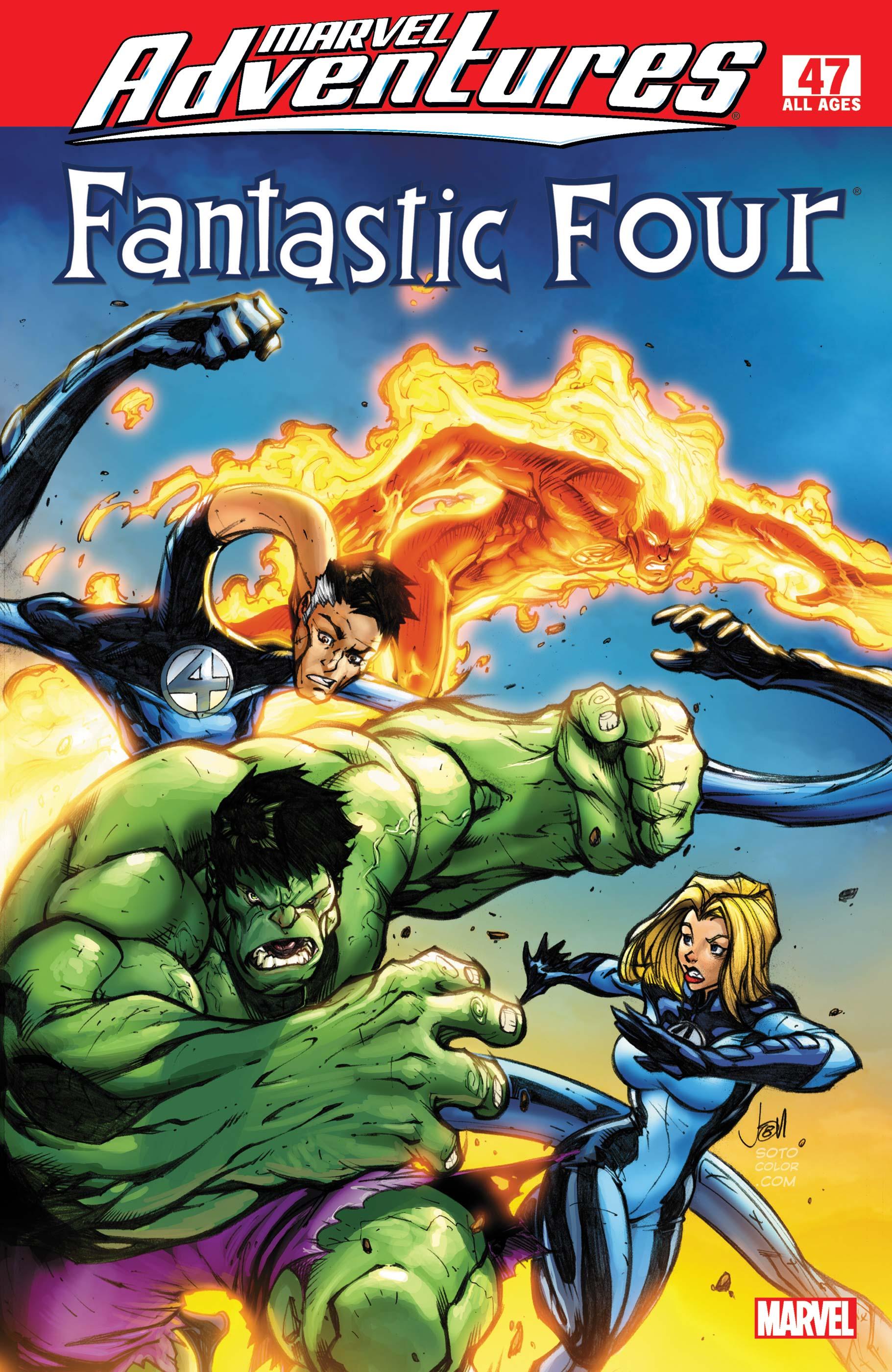 Marvel Adventures Fantastic Four (2005) #47