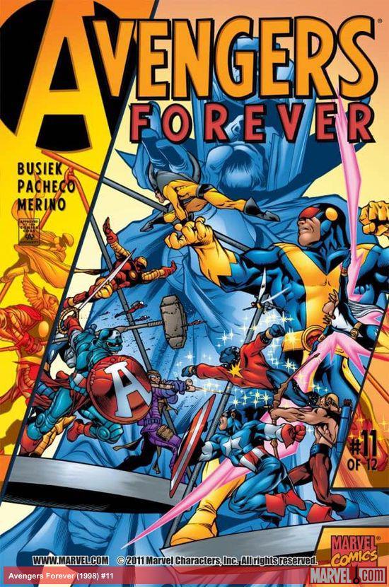 Avengers Forever (1998) #11