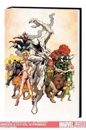 Official Handbook of the Marvel Universe a to Z Vol. 14 (2010 - Present)