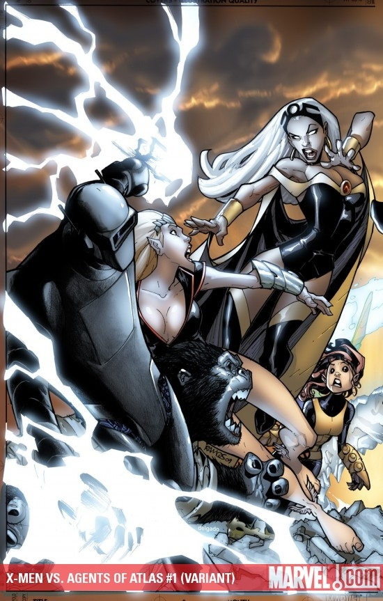 X-Men Vs. Agents of Atlas (2009) #1 (VARIANT)