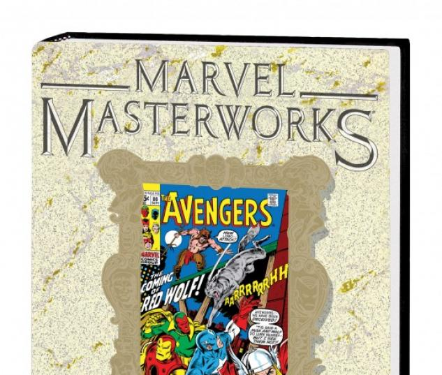 MARVEL MASTERWORKS: THE AVENGERS VOL. 9 HC #1 (DM ONLY VARIANT)