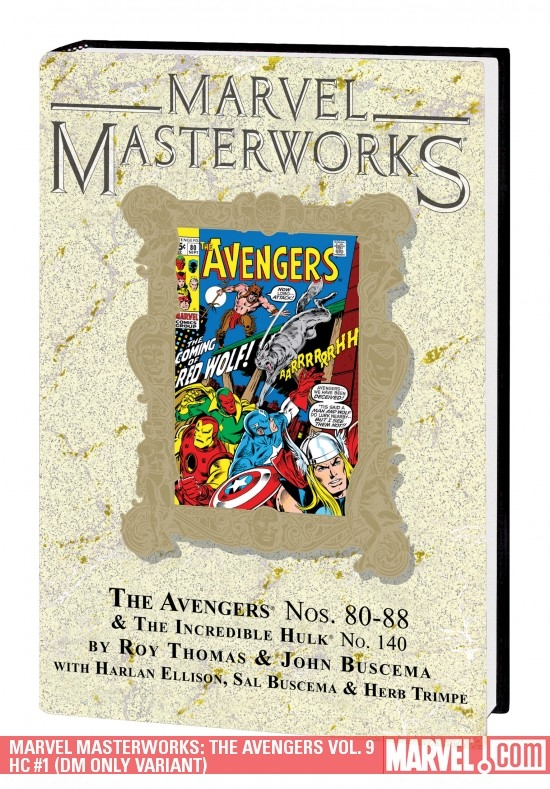 Marvel Masterworks: The Avengers Vol. 9 (Hardcover)