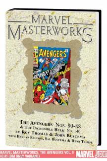 Marvel Masterworks: The Avengers Vol. 9 (Hardcover)