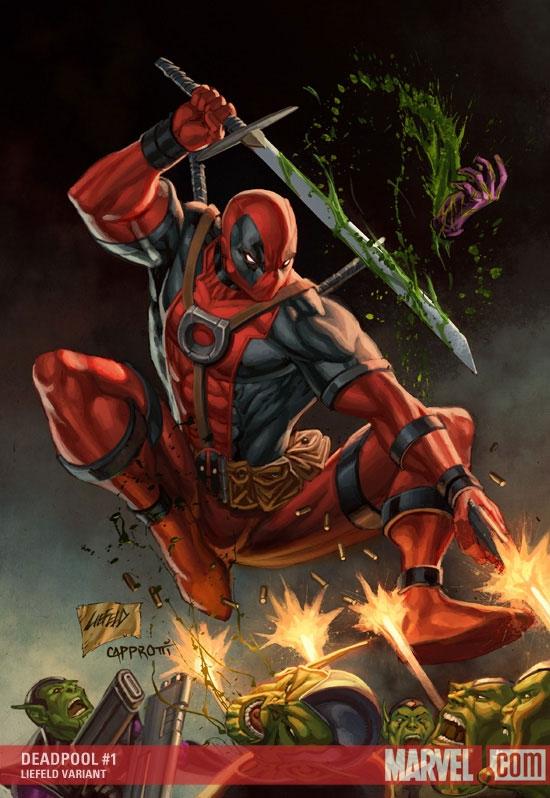 Deadpool (2008) #1 (LIEFELD VARIANT)
