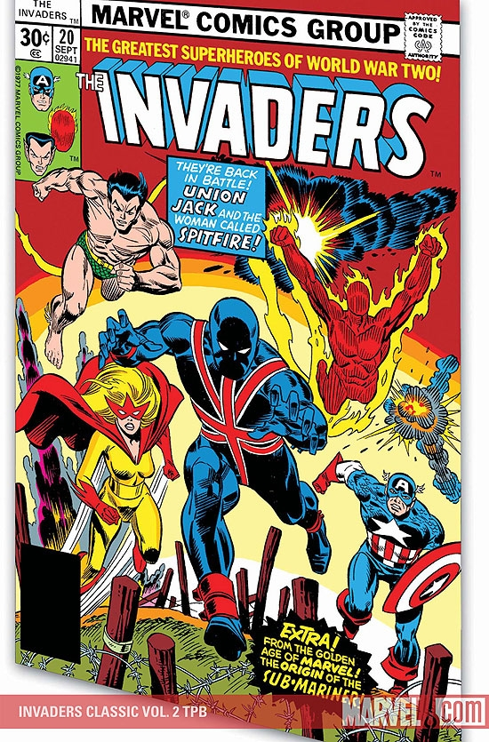 INVADERS CLASSIC VOL. 2 TPB (Trade Paperback)