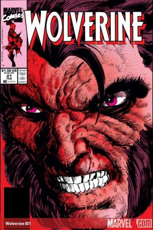 Wolverine (1988) #21