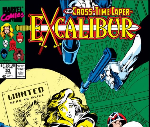 EXCALIBUR #23 COVER