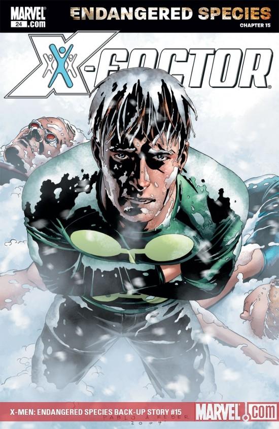 X-Men: Endangered Species Back-Up Story Digital Comic (2007) #15