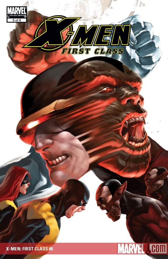 X-Men: First Class (2006) #6