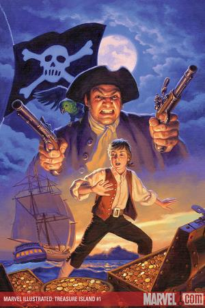 Marvel Illustrated: Treasure Island Premiere (Hardcover)
