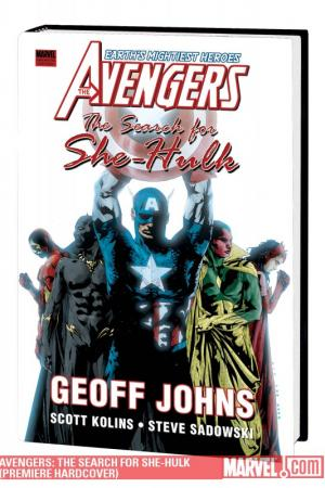 Avengers: The Search for She-Hulk (Hardcover)