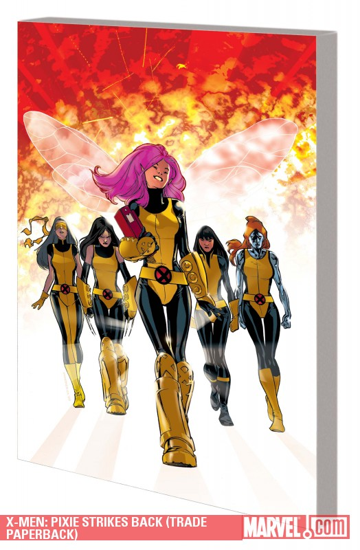 X-Men: Pixie Strikes Back (Trade Paperback)