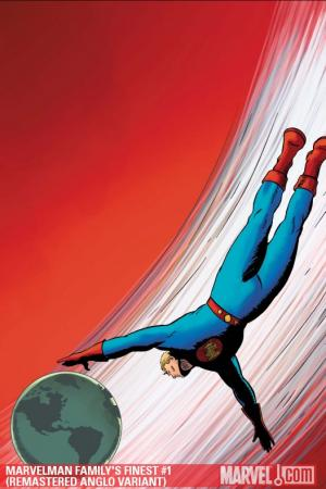 Marvelman Family's Finest #1  (REMASTERED ANGLO VARIANT)