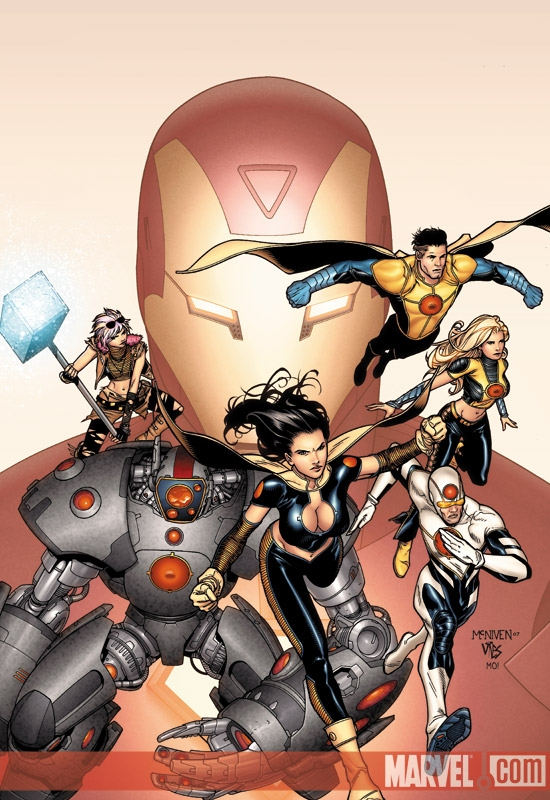 The Order (2007) #1 (50/50 Variant)