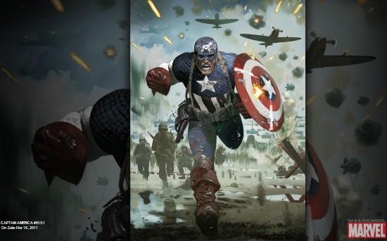 Captain America #615.1 Wallpaper