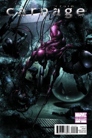 Carnage (2010) #2 (2nd Printing Variant)