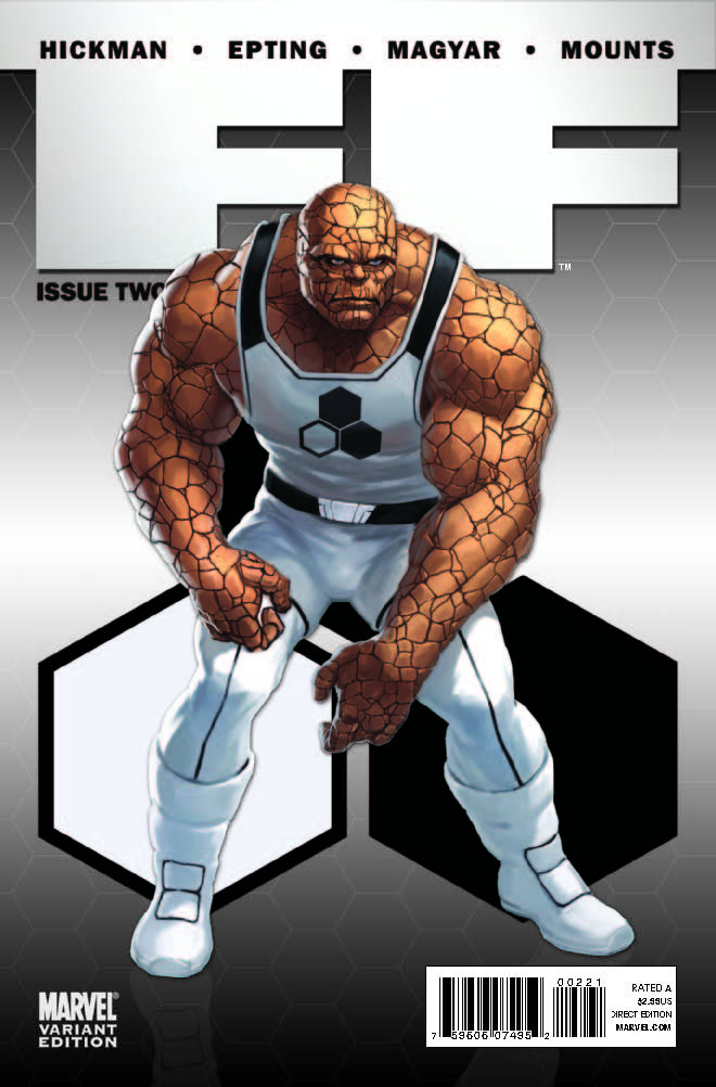 FF (2011) #2 (CHARACTER VARIANT)