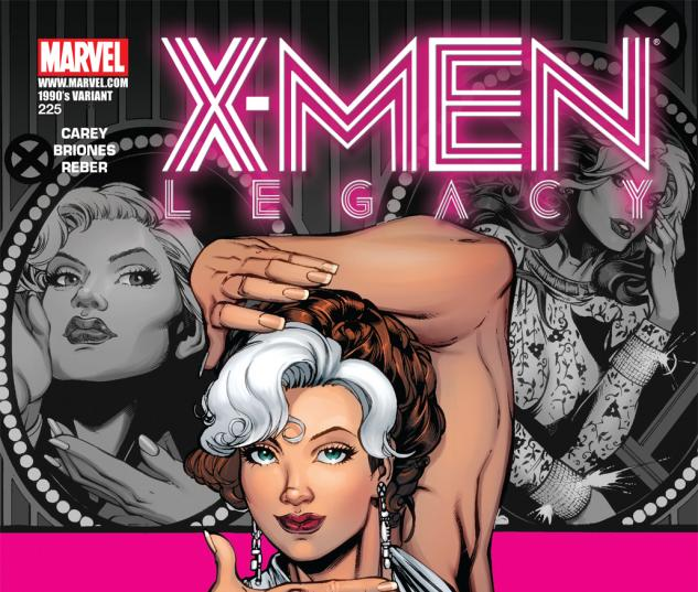 X-Men Legacy (2008) #225, 90'S DECADE VARIANT