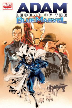 Adam: Legend of the Blue Marvel (2008) #2
