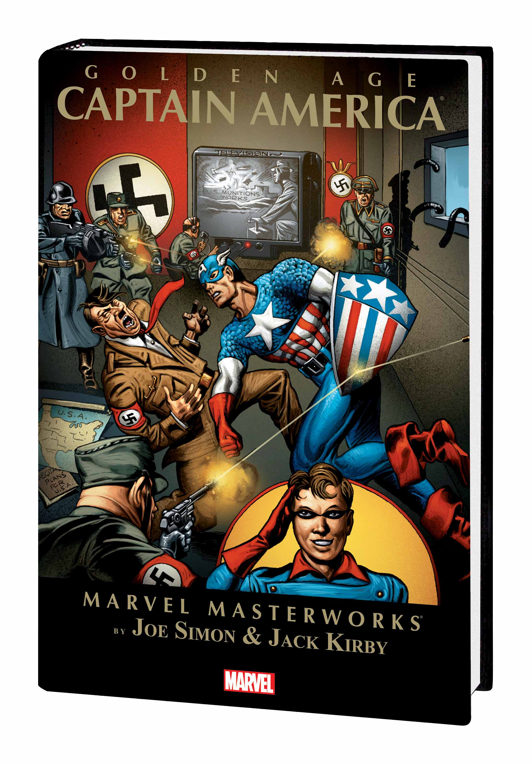 Marvel Masterworks: Golden Age Captain America Vol. 1 (Trade Paperback)