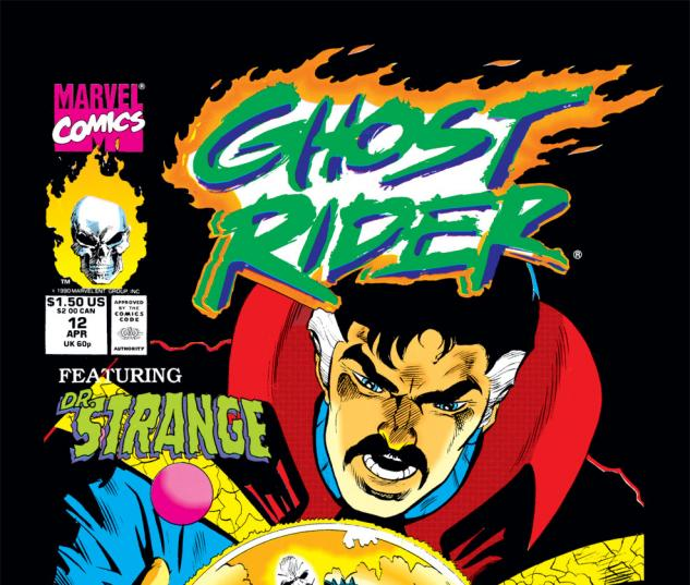 Ghost Rider (1990) #12 Cover