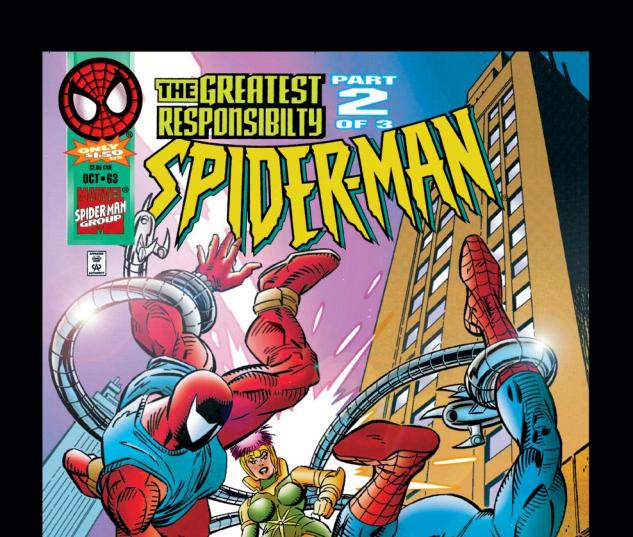 Spider-Man (1990) #63 Cover