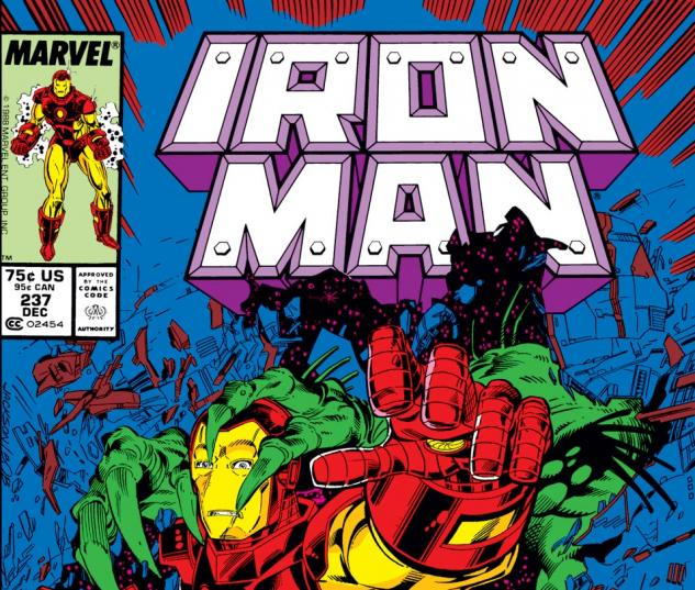 Iron Man (1968) #237 Cover