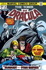 Tomb of Dracula (1972) #38 cover