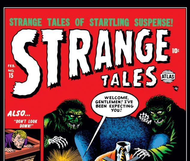 Strange Tales (1951) #15 Cover
