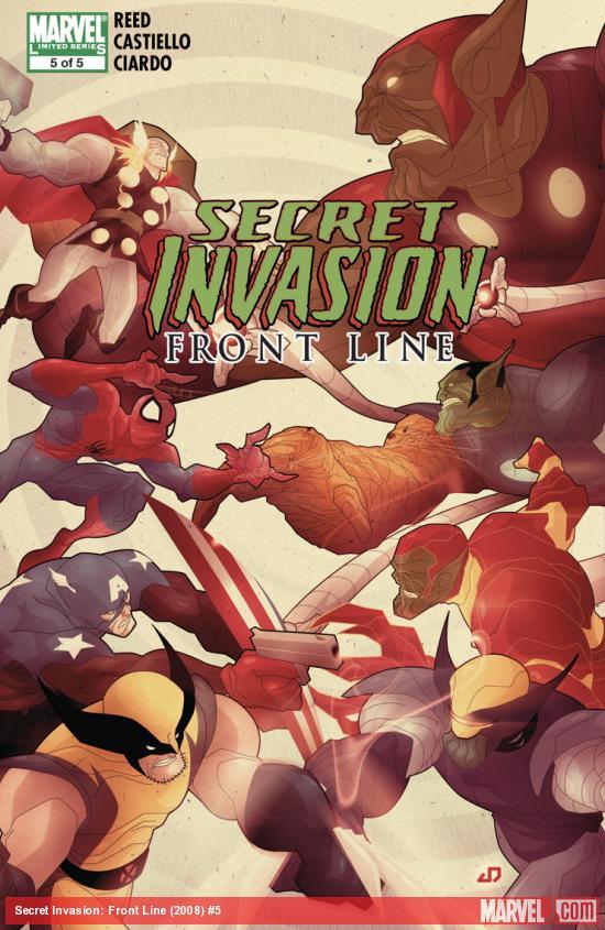 Secret Invasion: Front Line (2008) #5