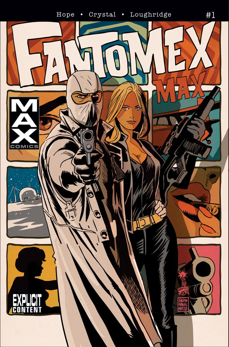 Fantomex Max (2013) #1
