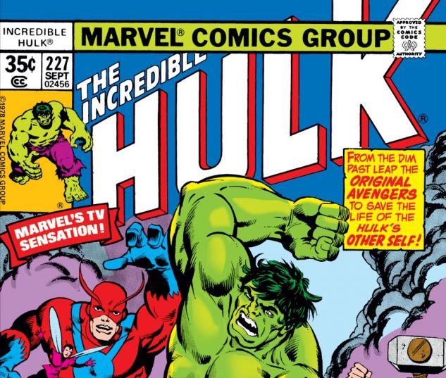 Incredible Hulk (1962) #227 Cover