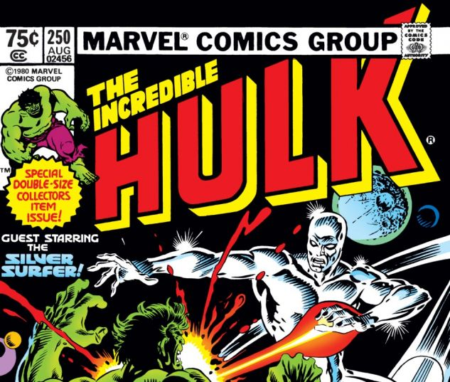 Incredible Hulk (1962) #250 Cover